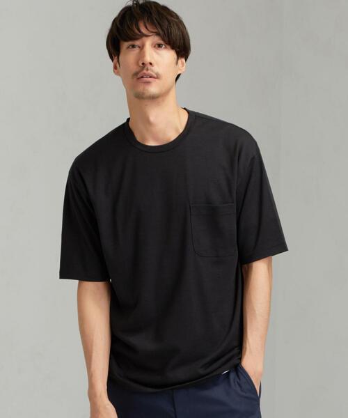 CM ☆ドライ ウールミックス クルー 半袖 Tシャツ
