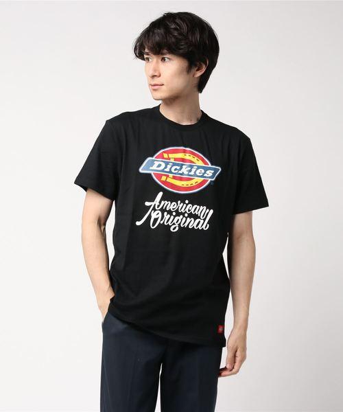 Dickies(ディッキーズ)の「【メンズ】半袖Tシャツ(Tシャツ/カットソー)」 ブラック