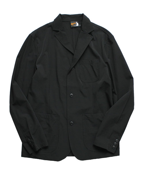 ROKX(ロックス)の「【ROKX / ロックス】トラベルジャケット TRAVEL JACKET(テーラードジャケット)」|ブラック