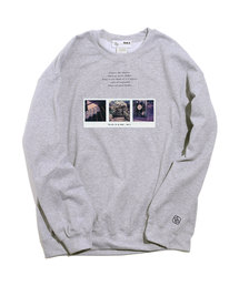 And A(アンドエー)のAnd A x Akio Nakai Stairway,rose garden,the cat CREW NECK クルーネックスウェット トレーナー(スウェット)