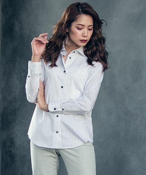 低価格の 【セール】ノンアイロンストライプシャツ(シャツ ONLINE/ブラウス)|la.f…(ラエフ)のファッション通販, マットラボ:4d502af7 --- pyme.pe