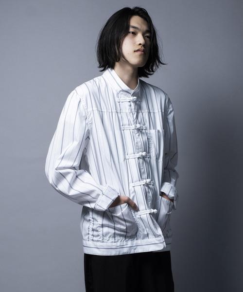 絶妙なデザイン CHINA JACKET/チャイナジャケット(シャツ/ブラウス)|mintdesigns(ミントデザインズ)のファッション通販, メンズバッグ専門店 紳士の持ち物:04f6960d --- 5613dcaibao.eu.org