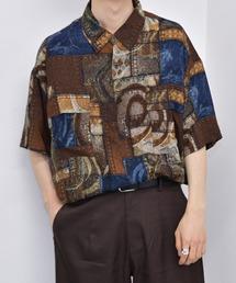 kutir(クティール)の半袖柄シャツ(シャツ/ブラウス)