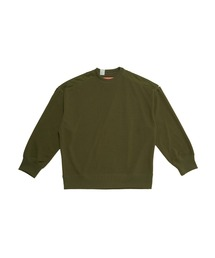 SPRING2021 CREW NECK SWEAT SHIRTカーキ