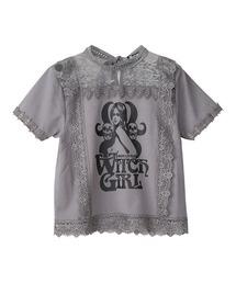 HYS WITCH ショートTシャツグレー