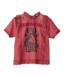 HYS WITCH ショートTシャツピンク