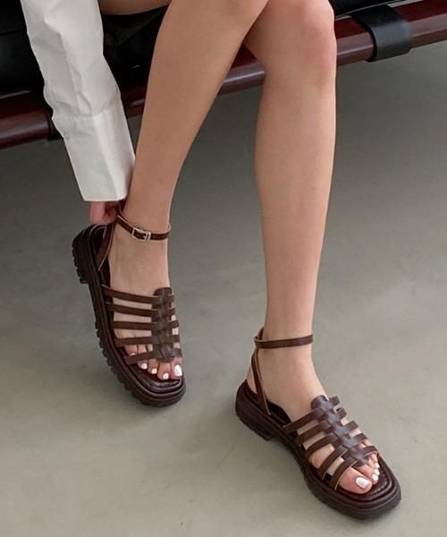 【chuclla】【2021/SS】Half gladiator sandal chs134