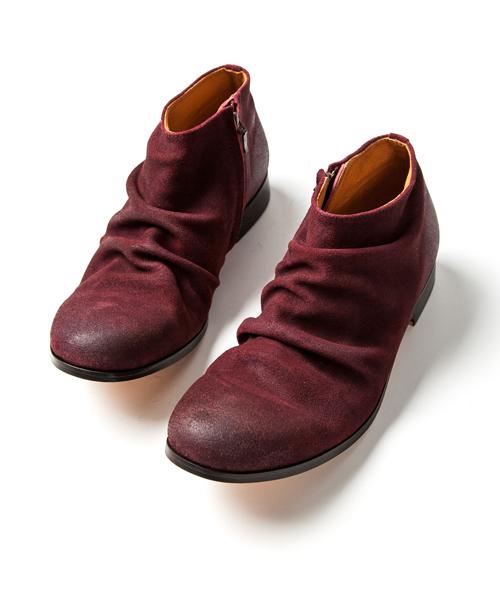 オープニング 大放出セール SHORT SIDE ZIP PADRONE BOOTS (SUEDE) SIDE BOOTS (ブーツ)|PADRONE MUSEUM(パドローネミュージアム)のファッション通販, ふとんの青木:ea6c04b8 --- skoda-tmn.ru