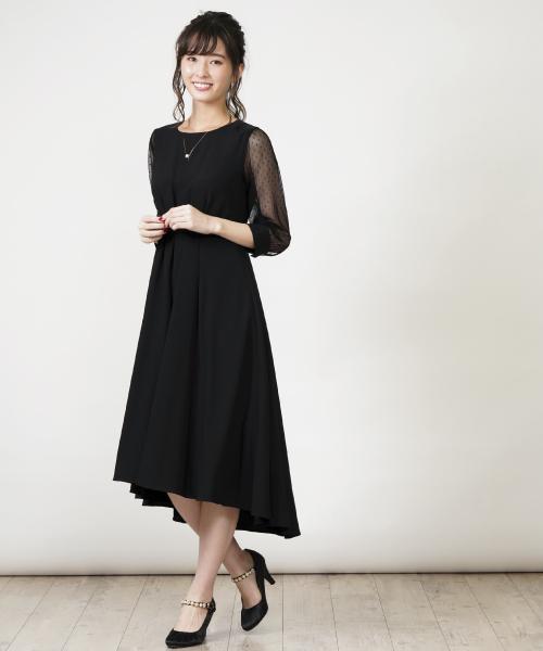 全日本送料無料 袖ドットチュールワンピース(ドレス)|INTERPLANET(インタープラネット)のファッション通販, ビッグジョイ:dfd11989 --- calligraphyindia.com