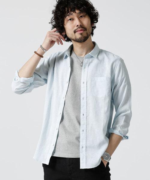 Herdman Linenシャツ LS