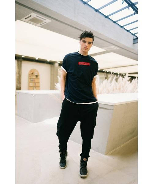 Dickies(ディッキーズ)の「【ユニセックス】半袖Tシャツ(Tシャツ/カットソー)」|ネイビー
