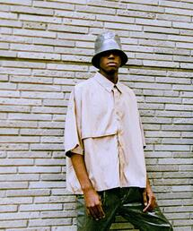 <JieDa × monkey time>TRENCH SHORT SLEEVE SHRT/トレンチシャツ
