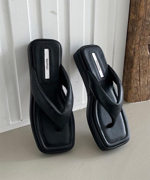 【chuclla】【2021/SS】volume sole thong sandal chs135