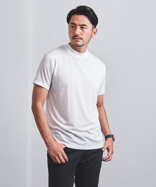 【WEB限定】<UNITED ARROWS> T/R ハイネック Tシャツ