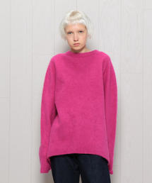 <ATON>CASHMERE KNIT PULLOVER/ニット