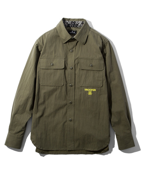 最適な材料 【セール】TROOPER SHIRT(シャツ/ブラウス)|Subciety(サブサエティ)のファッション通販, ミラノマート:025f14f9 --- blog.buypower.ng