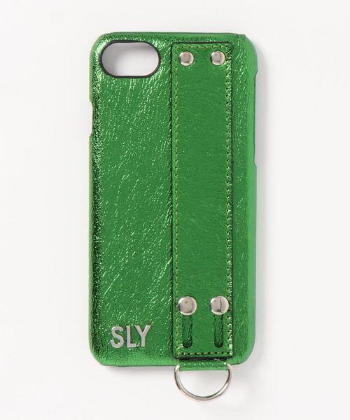fb93b7b9cd SLY(スライ)のBELT SMARTPHONE CASE 4.7IN(モバイルケース/カバー)