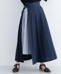 merlot(メルロー)のプリーツ切り替えスカート2913(スカート)