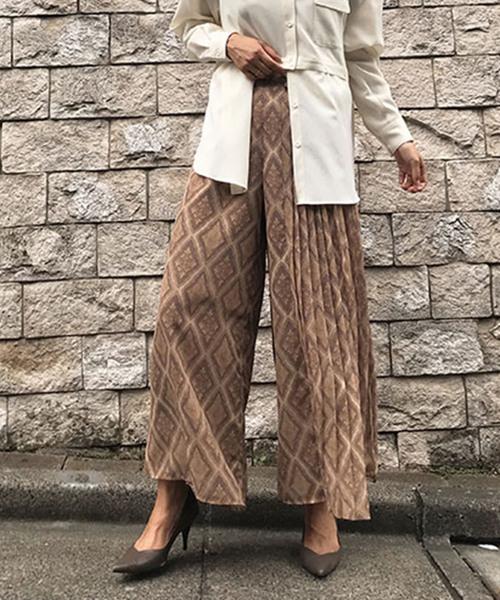 【今日の超目玉】 MAGGIE PORTION PORTION PLEATS PLEATS PANTS(スカート) Ameri|AMERI(アメリ)のファッション通販, 静内町:7adcf6e4 --- kredo24.ru