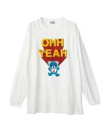 OHH YEAH オーバーサイズTシャツホワイト