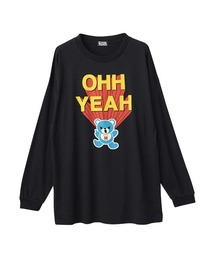 OHH YEAH オーバーサイズTシャツブラック
