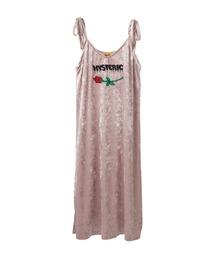 HYS ROSE刺繍 キャミソールピンク