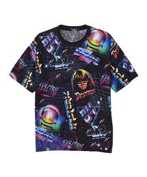 NEON プリント Tシャツ