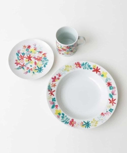 Jocomomola(ホコモモラ)の「パスタ皿・プレート・マグカップ Primavera(食器)」|ホワイト