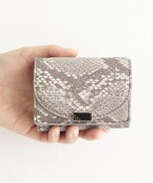 Legato Largo(レガートラルゴ)のLegato Largo フェイクレザー三つ折りミニ財布(財布)
