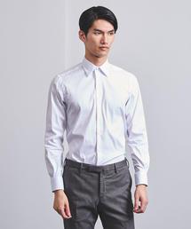 <UNITED ARROWS>  ストレッチ ブロード レギュラーカラーシャツ