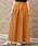 nougatine(ヌガティーヌ)の「ジョーゼットプリーツスカート(スカート)」|マスタード