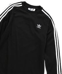 adidas(アディダス)の【アディダス/adidas】3ラインロングTシャツ(Tシャツ/カットソー)