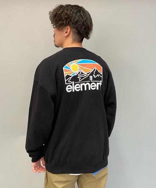 ELEMENT/エレメント ビッグシルエット バックプリントスウェット BB021-019