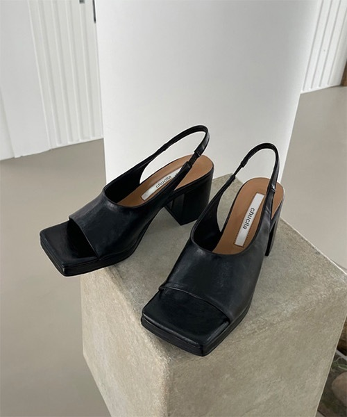 【chuclla】【2021/SS】Square-toe strap sandal chs137