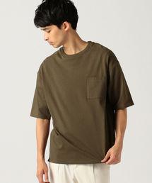 B:MING by BEAMS(ビーミングバイビームス)の【OCEANS掲載】B:MING by BEAMS / ヘビーウェイト ドロップショルダー ポケット Tシャツ(Tシャツ/カットソー)