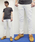 Nudie Jeans(ヌーディージーンズ)の「SKINNY LIN/ Ecru Stretch Twill(デニムパンツ)」|キナリ
