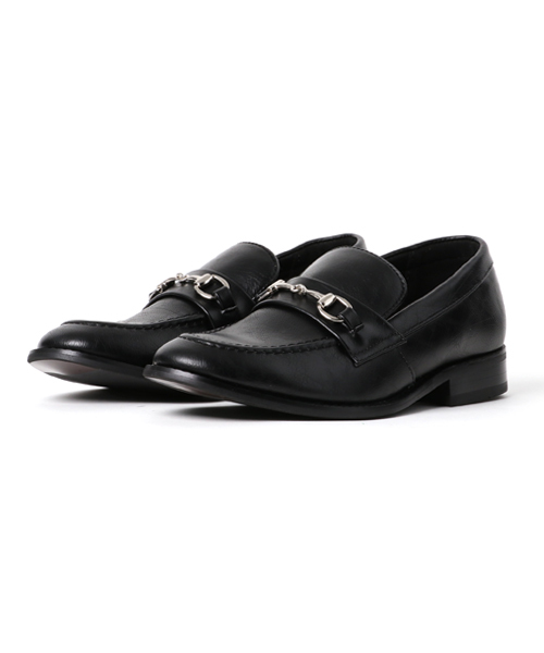 AN by LUCIUS(アンバイルシウス)の「【 AN by LUCIUS 】 bit loafer / アン バイ ルシウス ビットローファー(ローファー)」|ブラック系その他