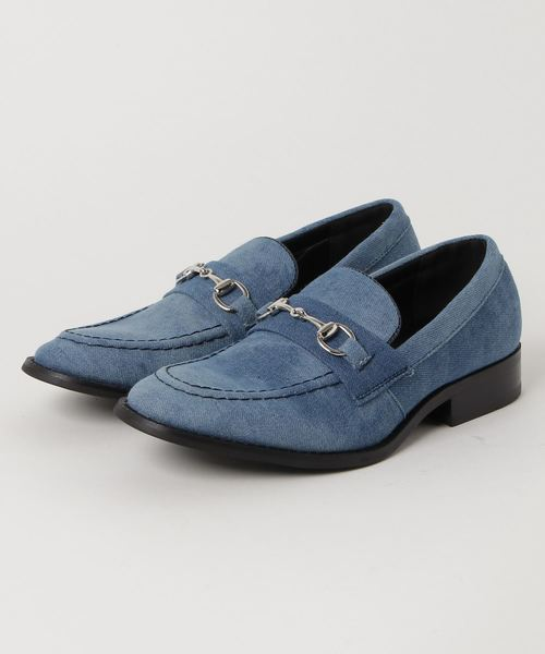 AN by LUCIUS(アンバイルシウス)の「【 AN by LUCIUS 】 bit loafer / アン バイ ルシウス ビットローファー(ローファー)」|ブルー系その他2