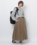 MILKFED. | VOLUME TUCK SKIRT(スカート)