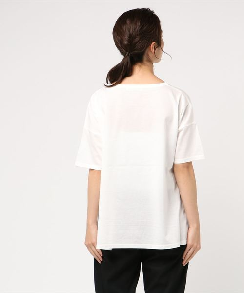 ロングテールロゴTシャツ