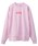 X-girl(エックスガール)の「BOX LOGO CREW SWEAT(スウェット)」 ピンク