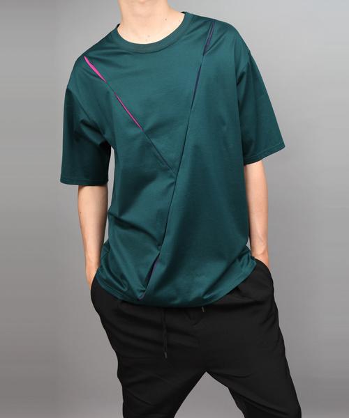 専門店では 60/2 T-CLOTH COLOR SCHEME TUCK T, ニジョウマチ 57d94ad5