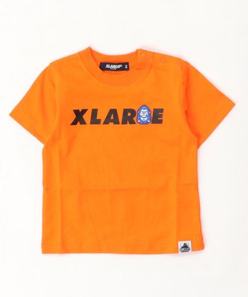 ファニーゴリラ&ロゴ半袖Tシャツ