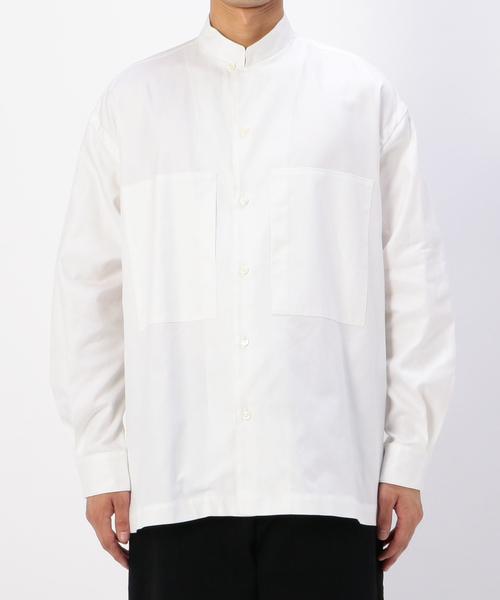 【NEW限定品】 【unfil】オックスフォード スタンドカラーシャツ MEN(シャツ/ブラウス) Bshop|unfil(アンフィル)のファッション通販, キセイチョウ:750d9f3a --- blog.buypower.ng