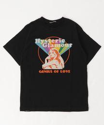 SHE'S A RAINBOW pt Tシャツ【L】ブラック