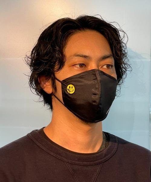 STUD MUFFIN/スタッド マフィン/ワンポイントパッチ3Pマスク/114-10070