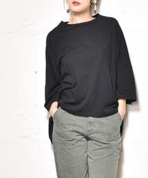 coca(コカ)のポケット付きコットンビッグTシャツ(Tシャツ/カットソー)