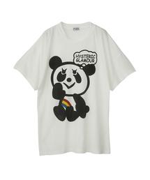 RAINBOW PANDA プリント ビッグTシャツ