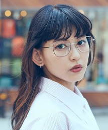 Zoff(ゾフ)の菅沼ゆりモデル|Zoff CLASSIC Girls Collection|ウェリントン型めがね(メガネ)