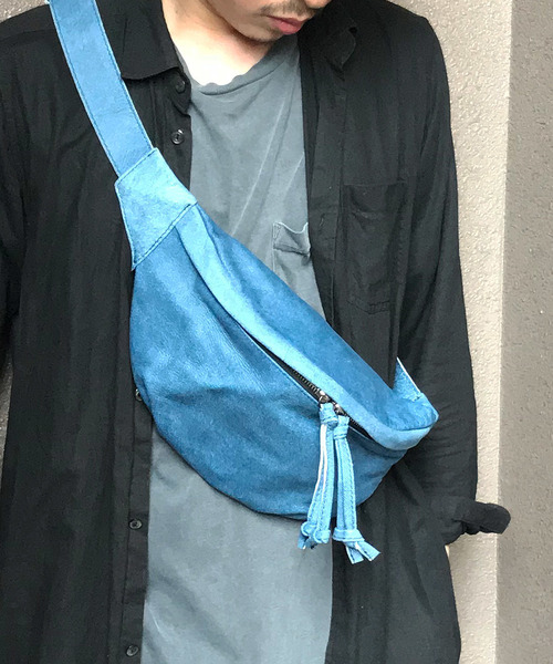 最新エルメス 【セール Leather】デニム・レザー・ウェストボディバッグ/DECADE (No-01084)// Denim Body Leather Waist Body Bag/(ボディバッグ/ウエストポーチ)|DECADE(ディケイド)のファッション通販, ナダチマチ:d6a7e583 --- pyme.pe